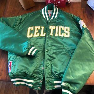 Size XL Celtics Starter Jacket